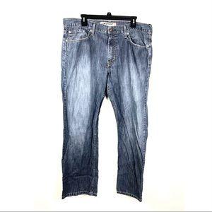 LEVI'S 514 Slim Straight Stretch Denim Jeans M 38